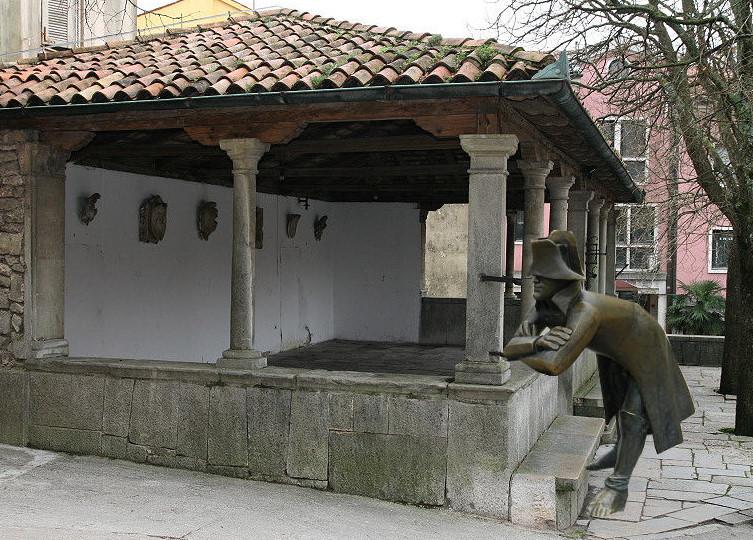 Napoleon in Labin ( Istrien)