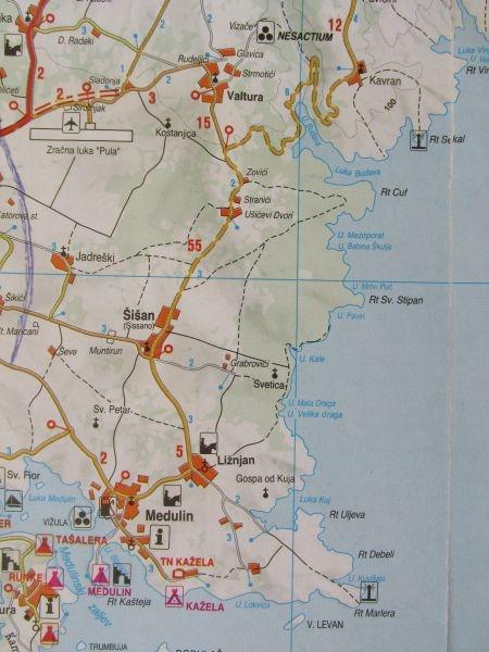 Strande Istrien Karte.Bootsausflug Auf Die Insel Levan Bei Liznjan Auf Istrien