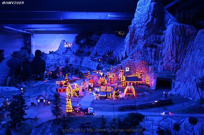 Amerikanische Weihnachtsbeleuchtung.Schoener Reisen Bildergalerie