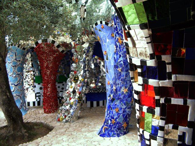 Thema Der Tarot Garten der Niki de Saint Phalle in der Toskana