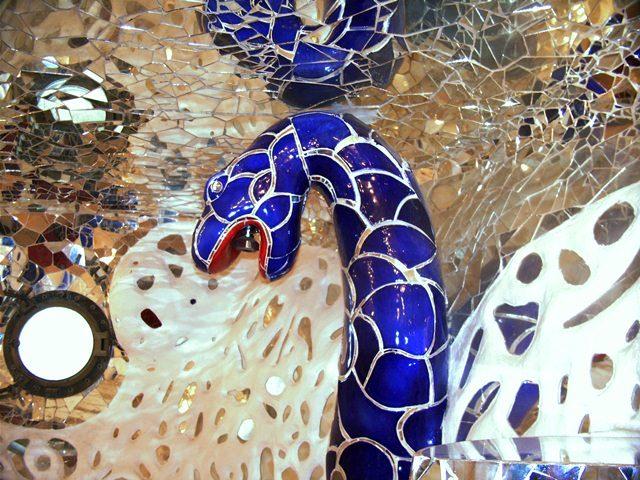 Der Tarot Garten der Niki de Saint Phalle in der Toskana  Toskana