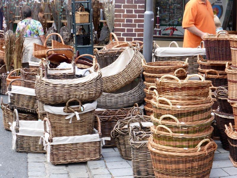 Korbmarkt In Lichtenfels Bayern Schoener Reisen