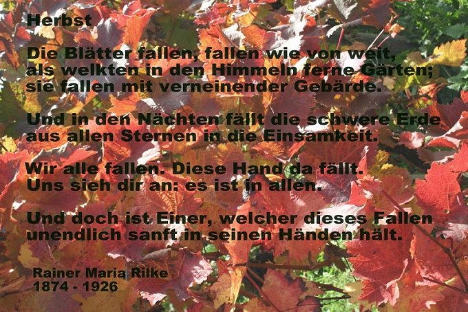 Herbst heinz erhardt gedicht Heinz Erhardt: