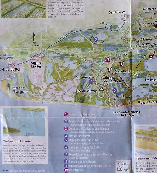 Camargue Karte.Ein Tag In Der Camargue Frankreich Schoener Reisen Forum