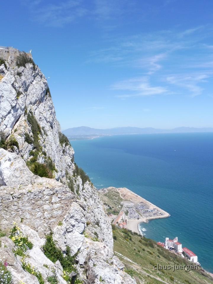 Wanderung auf den Felsen von Gibraltar - Vereinigtes