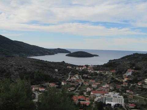 Ausblick auf Vela Luka
