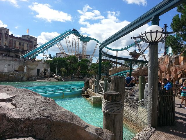 Wasserbahn Atlantica SuperSplash